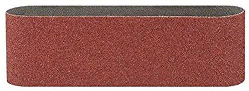 Bosch DIY Schleifband verschiedene Materialien für Bandschleifer (3 Stück, Körnung 80)