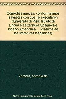 Comedias nuevas con los mismos saynetes con que se executaron (Textos y estudios clásicos de las literaturas hispánicas) (Spanish Edition)