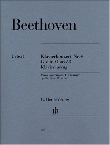 Klavierkonzert Nr. 4 G-dur op. 58; Klavierauszug