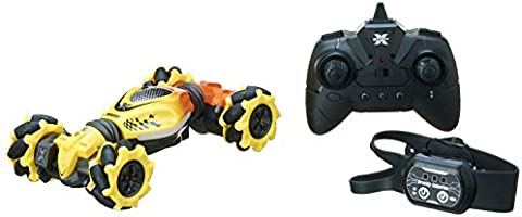 WANTENG TOYS 2020-A Stunt Car with Gesture Sensor and Remote Control for Kids - Yellow