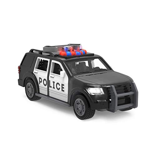 Driven by Battat – Police SUV – Toy Car with Lights and Sound – Rescue Cars and Toys for Kids Aged 3 and Up, WH1127Z