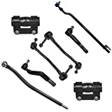 Detroit Axle - 8PC Front Sway Bar Inner Outer Tie Rod and Adjustment Sleeve Kit for 2000 2001 2002 2003 2004 Ford F-250 Super Duty/F-350 Super Duty - [00-05 Excursion] - 4WD Only
