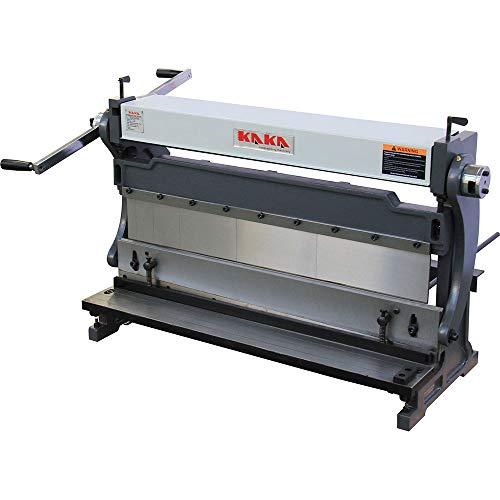 KAKA Industrial 3-In-1/30, 30-Inch Sheet Metal Brake, High Efficiency, 20 Gauges Shear Brake Roll Combination, Versatility, Solid Construction, Sheet Metal Brakes, Shears and Slip Roll Machine