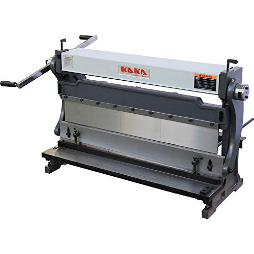 New KAKA Industrial 3-In-1/30, 30-Inch Sheet Metal Brake, High Efficiency, 20 Gauges Shear Brake Rol...