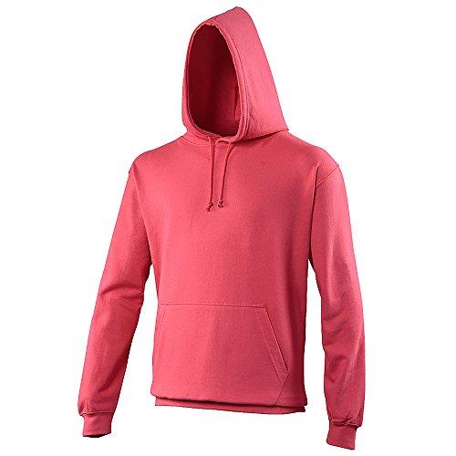 Anvil - Sweatshirt à capuche - Adulte unisexe (2XL) (Rose clair)