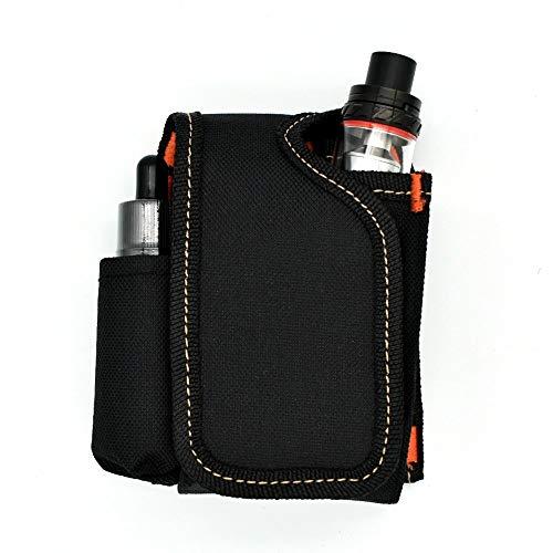 Kitchen Vape Case Accessories,Vapor Pouch, Vape Case, Vapor Carrying Bag for Travel Vaping Supplies Organizing Your Battery,Box Mod, e Juice, Vape Pen Atomizer Tank Holder RDA RBA RTA (Black)