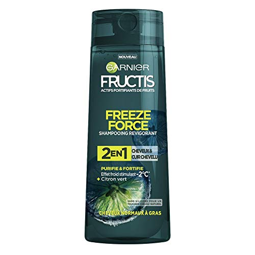 bon comparatif Garnier Fructis Freeze Force Shampoo 2in1 Lime Hommes Cheveux / Cuir chevelu 250 ml un avis de 2021