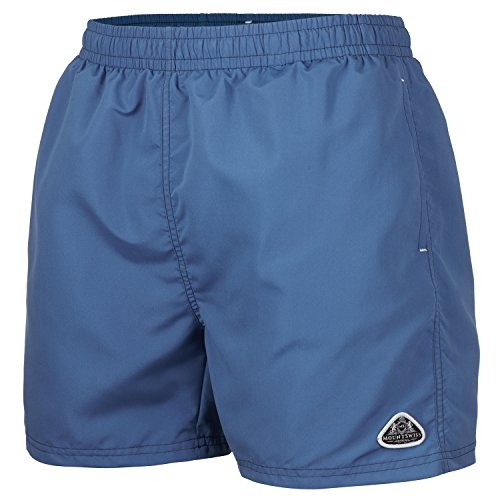 Mount Swiss Herren MS Badeshort, 5013, Denim.1, Gr. M