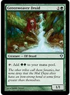 Magic: the Gathering - Greenweaver Druid (164) - Zendikar
