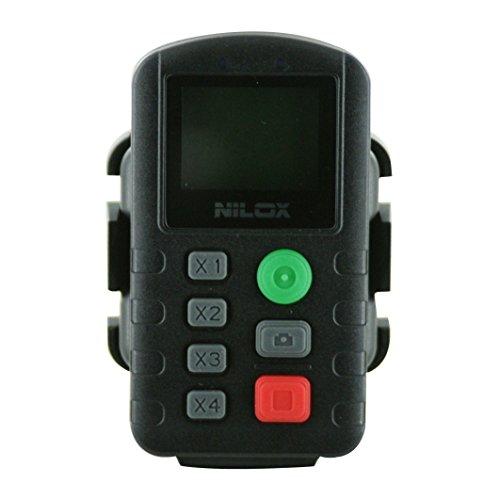 Nilox F-60 Evo Telecomando per Action Camera, Nero