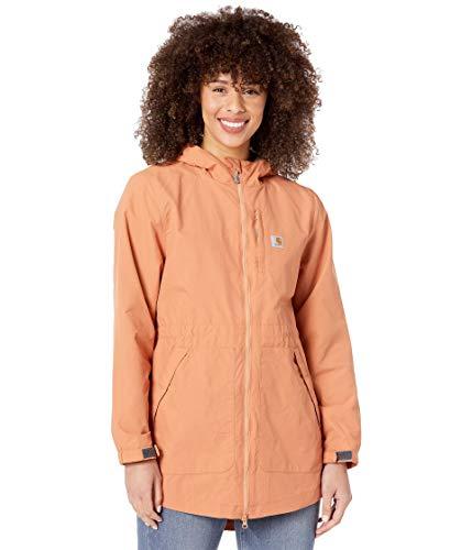 Carhartt Women's Rain Defender Loose Fit Lightweight Coat, Ginger, X-Large
