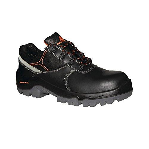 Delta Plus - Zapatos de Seguridad de Piel Resistente al Agua Modelo Phocea Composite para Hombre (45 EU/Negro)