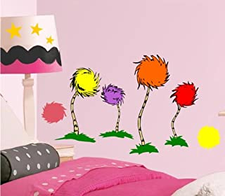 Wall TRUFFULA TREES w/ Kids Name Room Cartoon Decal MCARTWORK STICKERS