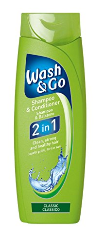 Wash & Go 2 in 1 Classic Shampoo and Conditioner X 9 bottles