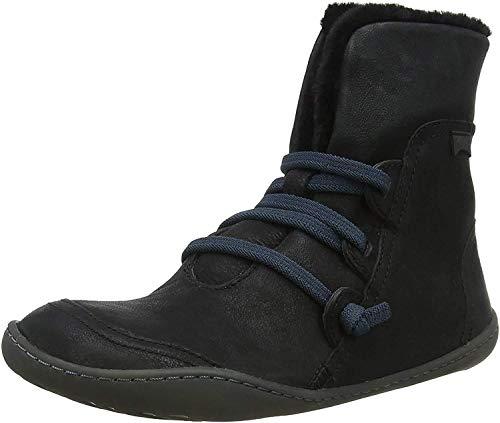 CAMPER Peu Hohe Sneaker, Schwarz (Black 1), 35 EU