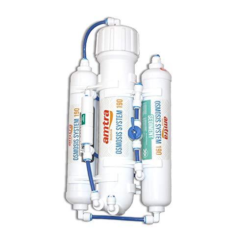 Amtra Osmosis System 190 - Impianto Osmosi Inversa per Produzione di Acqua osmotica per Acquario - Membrana da 50 Galloni (190 Litri)   Giorno