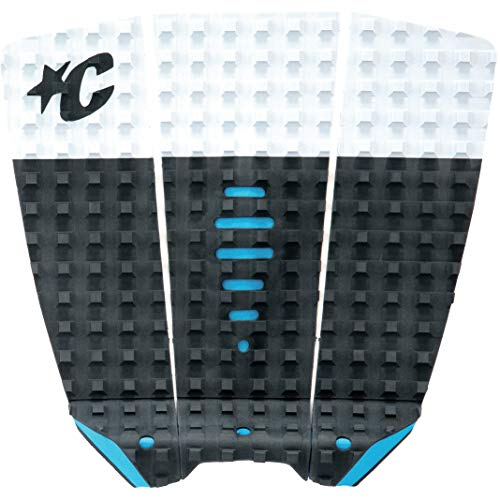 Creatures of Leisure Mick Eugene Fanning Shortboard Traction Pads - Grey Lite Blue