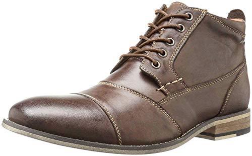 Steve Madden Men's Jabber Boot, Dark Tan, 10 M US