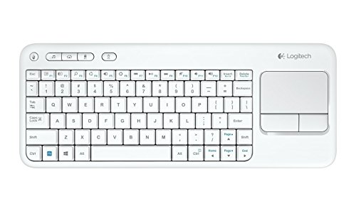 Logitech K400 Plus - Tastaturen (RF Wireless, Universal, QWERTY, Holländisch, Kabellos, USB)