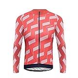 Uglyfrog Maillot de Cyclisme Homme Manches Longues Printemps été Printemps été Automne Respirant Costume de Vélo Cycle Bike Shirt VTT Vêtements PZ01