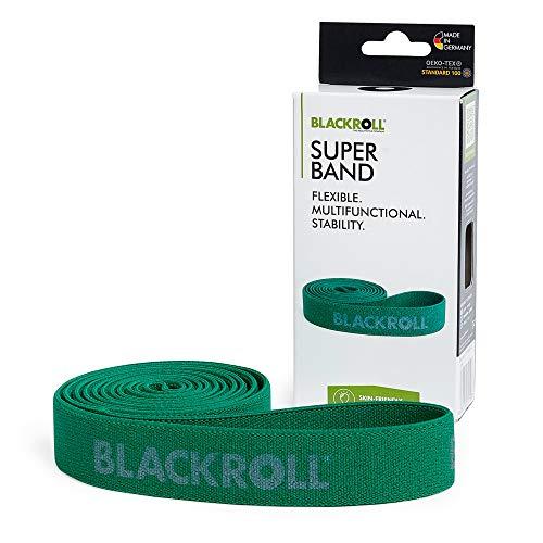 BLACKROLL® SUPER BAND - Fitnessband. Trainings-Band/Gymnastik-Band/Sport-Band für eine Stabile Muskulatur mit mittlerem Widerstand