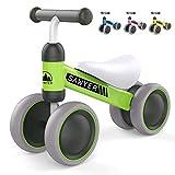 Sawyer - Correpasillos / Bicicleta Sin Pedales - Niños 10 a 24 Meses / Bebes 1 Año (Verde)