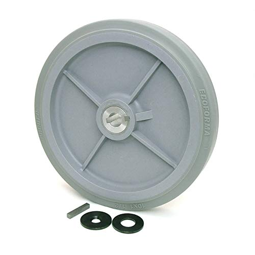 10-inch Drive Wheel with 3/4-inch Keyed Hubs