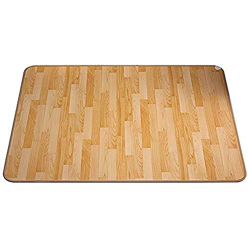 QYL Fußbodenheizung, Fußheizung Elektrisch Verstellbar Mit Thermostat, Beheizbare Fußboden-Matte Heizteppich Für Heim Büro,50x80