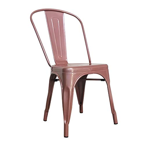 MUEBLES MARIETA OLD STYLE NOW Silla Industrial Tolix Rose Gold