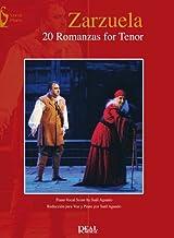 VARIOS - Zarzuela: 20 Romanzas para Tenor y Piano (Aguado)