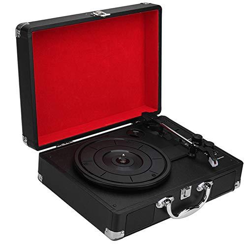 Reproductor Vinilo VINCE 3-VELOCIDAD Bluetooth Vinyl...
