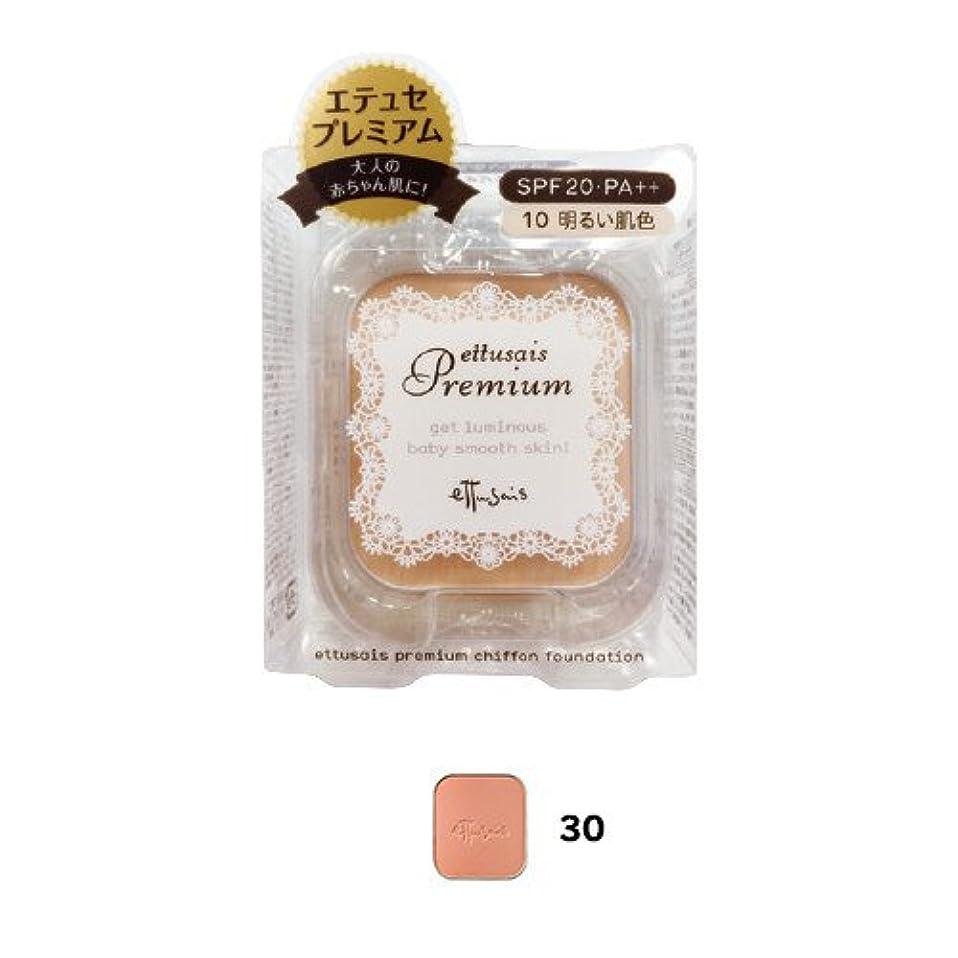 公爵夫人乳製品移住するエテュセ プレミアム シフォンファンデーション 30(健康的な肌色) レフィル SPF20?PA++ 9g