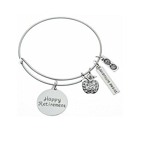Teacher Retirement Bracelet, Teacher Jewelry, Teacher Retirement Gift - Show Your Teacher Appreciation