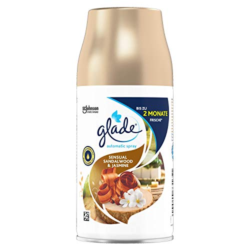 Glade (Brise) Automatic Spray Nachfüller, Raumduft, Sandalwood & Jasmine, 269 ml