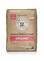 Eating well should taste good - so our organic whole wheat flour balances robust flavor and whole grain nutrition. Whole wheat flour adds fiber, vitamins, and nutrients to your recipes, but really we're in it for the taste Milled from 100% organic ha...