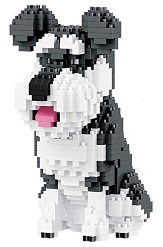 RSVT Super Süße Hund Nano Baustein Set DIY Pädagogisches Spielzeug Geschenk,D