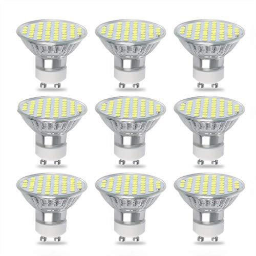 ZJYX Bombillas LED GU10 8W / Equivalente 80W Halógena 800 Lumen Blanco...