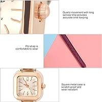 時計、ファッショナブルな腕時計友達へのギフト用の7色(purple)
