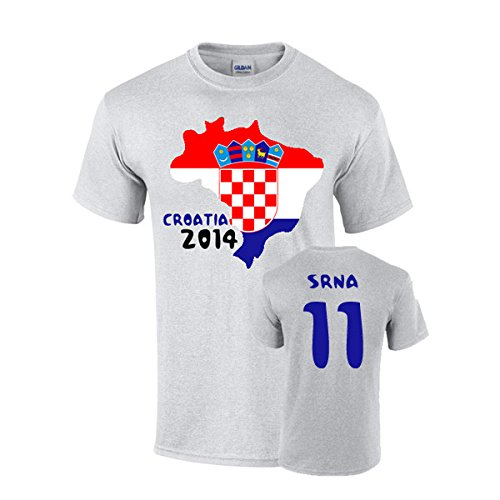 Croatia 2014 Country Flag T-shirt (srna 11)