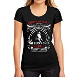 Mujer Camiseta Gráfico tee Shirt Dog Boston Terrier Negro Profundo
