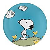 Snoopy - Juego de imanes de nevera para oficina, imanes de cristal para nevera, diseño de C, imanes decorativos para pizarra blanca, 2 unidades
