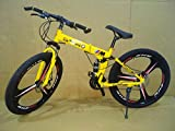 Amardeep Cycles 26 T 21 Speed Double Disc Brake Sports Folding Mountain Cycle