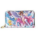 KevinGAodd Wallet Cardcaptor Sakura Leather Wallet,Card Package,Foldable Wallet,Fashion Wallet,Personalized Custom Wallet
