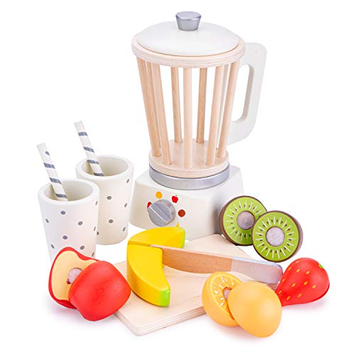 New Classic Toys Smoothie Maker, Bianco, 10708