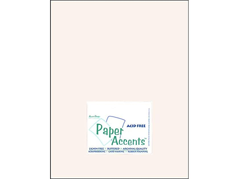 Accent Design Paper Accents Cdstk Muslin 8.5x11 80# Avalanche