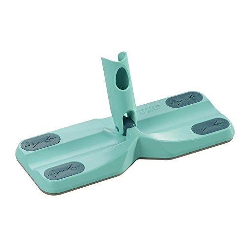 Leifheit Click System Clean and Away Bodenwischer mit Reinigungspads, Türkis, 5er Pack