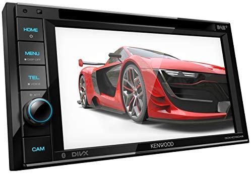 Kenwood DDX4019DAB DAB + Autoradio Multimédia avec écran Tactile de 15,7 cm (2 DIN, DVD, Mains Libres Bluetooth, Processeur de Son, USB, Spotify Control) Noir