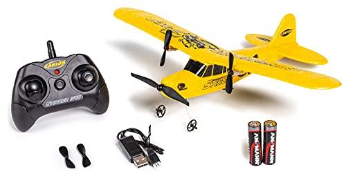 Carson 500505029 500505029 Stinger 340 2.4G RTF, Modelos de avión teledirigido, Incluye Pilas y Mando a Distancia, 100% Listo para Volar, Color Amarillo