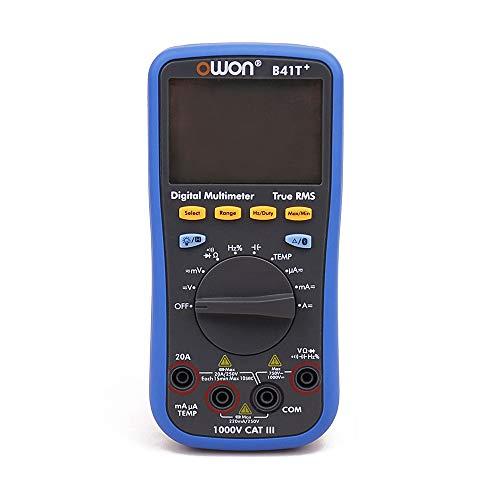 Kwent Osciloscopios de Laboratorio B41T + 4 1/2 Digital Metro de Prueba de luz de Fondo con Bluetooth Verdadero Valor eficaz Bricolaje Kits electrónicos