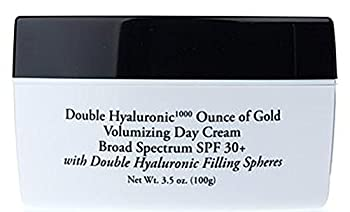 Signature Club A Rapid Transport C Double Hyaluronic 1000 Ounce of Gold Volumizing Day Cream Broad Spectrum SPF 30+ Jumbo Size 3.5 Ounce
